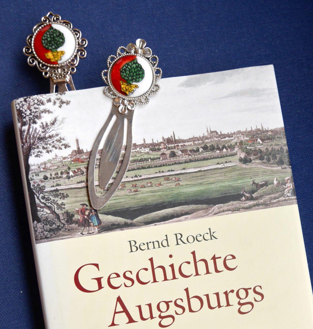 Lesezeichen Wappen Augsburg